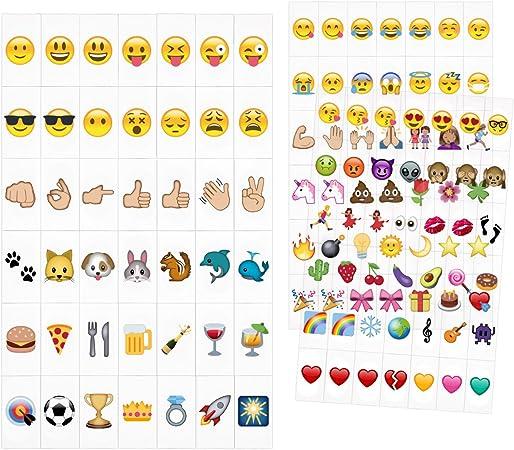 kwmobile Set de emoticones para Caja de luz LED cinematográfica - 126x Emoji para Lightbox A4 - Set complementario de Emojis para Panel de Cine: Amazon.es: Iluminación