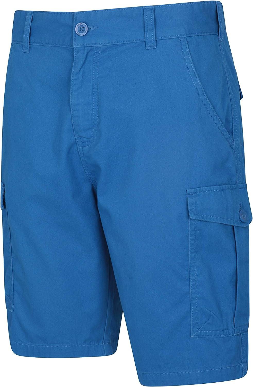 Mountain Warehouse Lakeside Mens Shorts Twill Cotton Cargo Pants