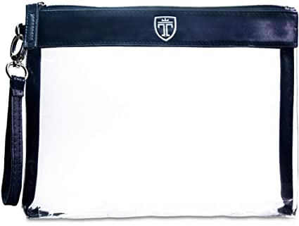 TRAVANDO ® Neceser transparente - 1l de capacidad - bolsa para llevar líquidos y cosméticos, equipaje de mano para el avión, botella set de viaje - ...