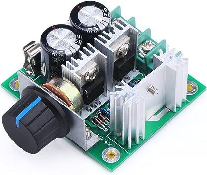 Opinión sobre YUNIQUE GREEN-CLEAN-POWER- Espana Controlador del Interruptor de Control de Velocidad del Motor de Corriente Continua 13khz pwm 10A 12v-40v, Color Negro (Yunique ES-DH85-84I0)