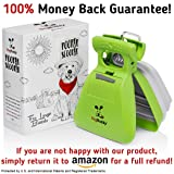 DogBuddy Pooper Scooper, Portable Dog Poop Scooper, Sanitary Dog Waste Pick Up, Heavy Duty Dog Waste Cleaner with Bag Dispenser, Dog Leash Clip and Pooper Scooper Bags Included