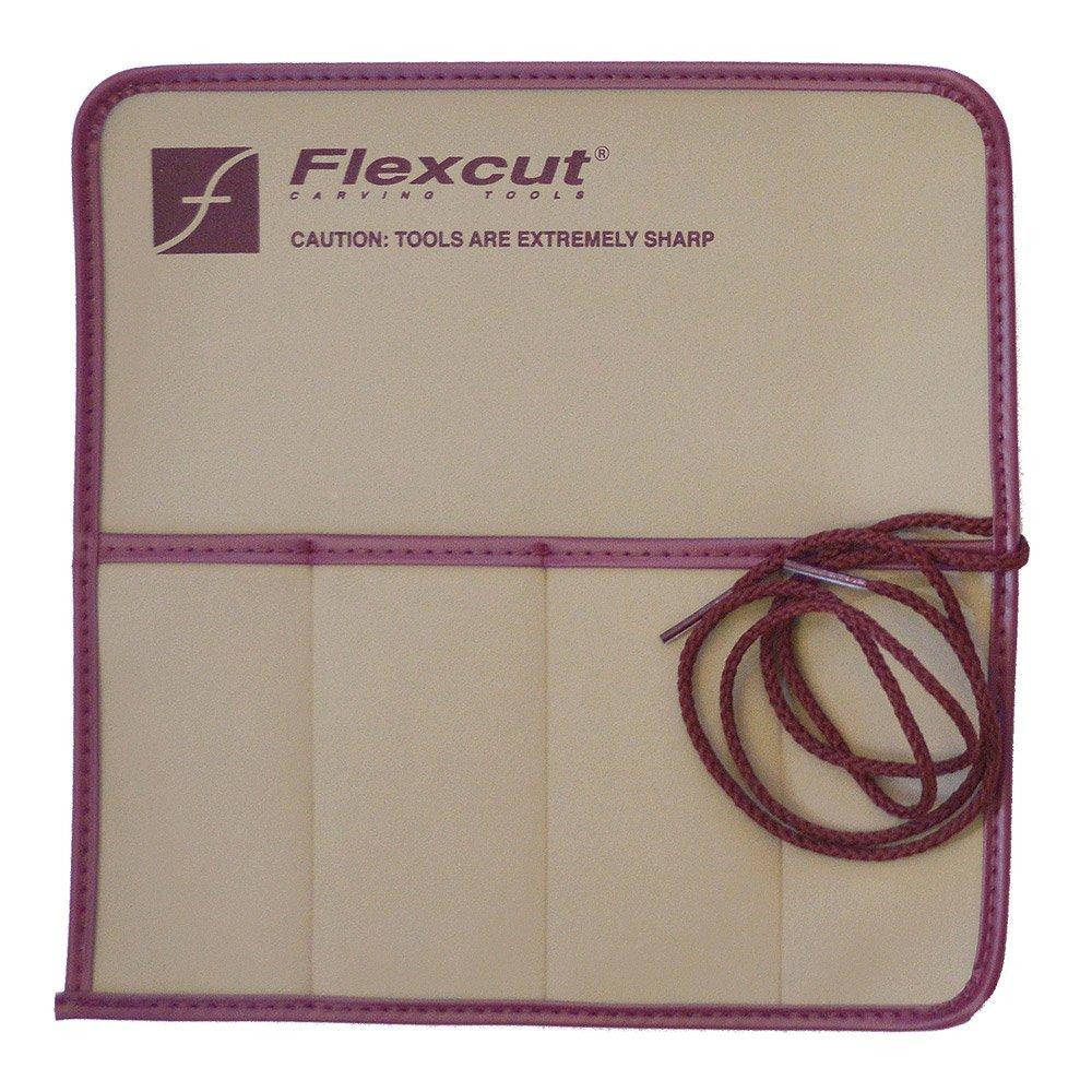 Flexcut Knife Roll, with Four Pockets, 3.4 Oz (KN00) by Flexcut