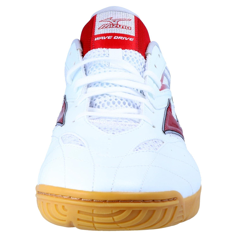 d3be0550 Mizuno Wave Drive 7 Zapatillas de Tenis de Mesa - Rojo/Blanco - 270 g,  Infantil Hombre Mujer, Red, White, 10: Amazon.es: Deportes y aire libre