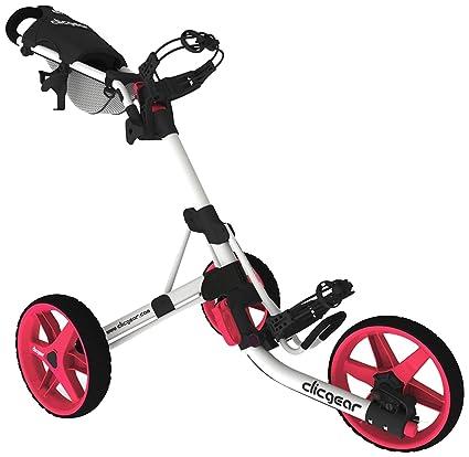 Clicgear 3.5 (2014) Carro de golf Arctic White Pink