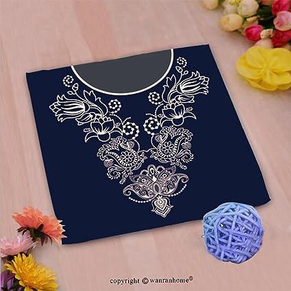 vroselv Custom algodón microfibra Ultra suave mano towel-vector diseño para cuello camisas blusas T
