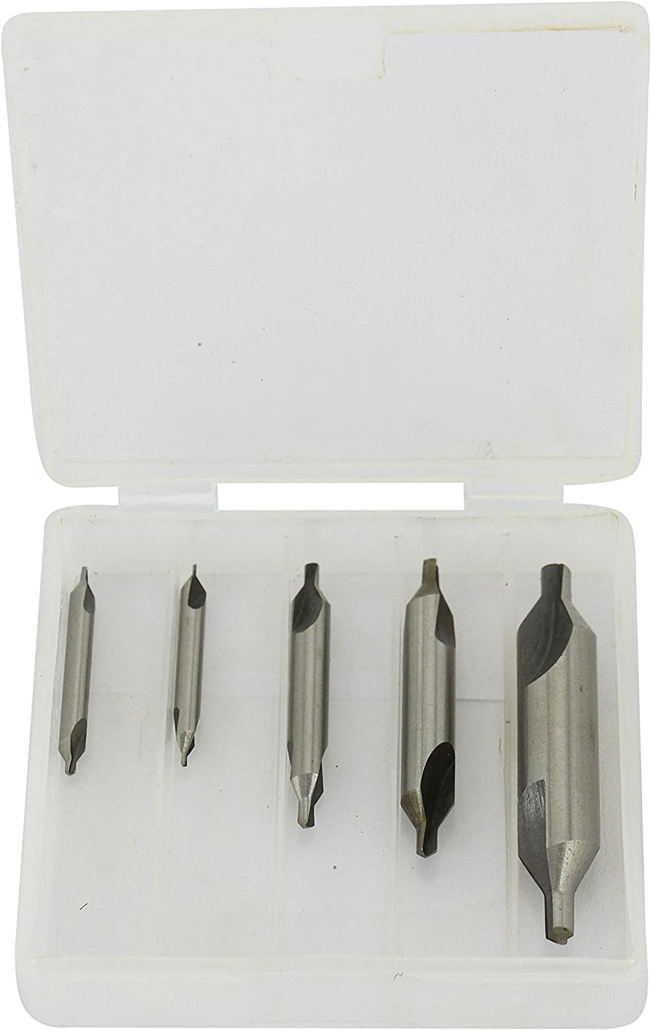 R HFS 5 Lathe Mill Center Drill Countersink Bit Tooling Set