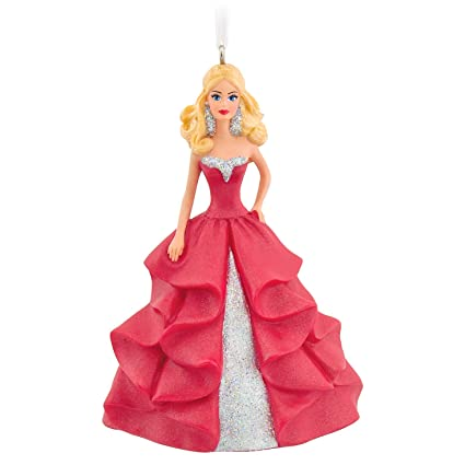 Amazon.com: Hallmark Holiday Barbie Christmas Ornament: Home & Kitchen