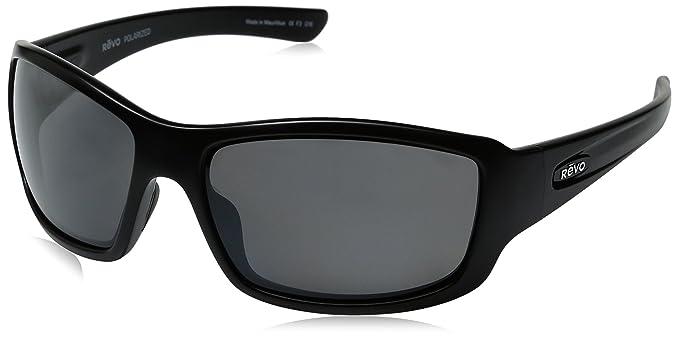 f3c47db0ea Revo Unisex RE 4057 Bearing Rectangular Polarized UV Protection Sunglasses