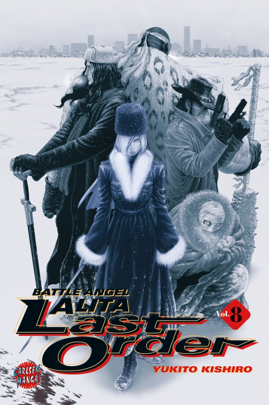Battle Angel Alita. Last Order 8