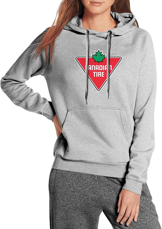 Women's Gray Wool Warm Sweatshirts Wawa- Classic Cute Kangaroo Pocket Fleece Pullover Hoodie