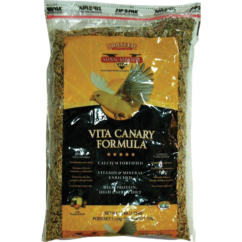 Sunseed Vita Sunscription Canary Diet, 2.5 Pounds