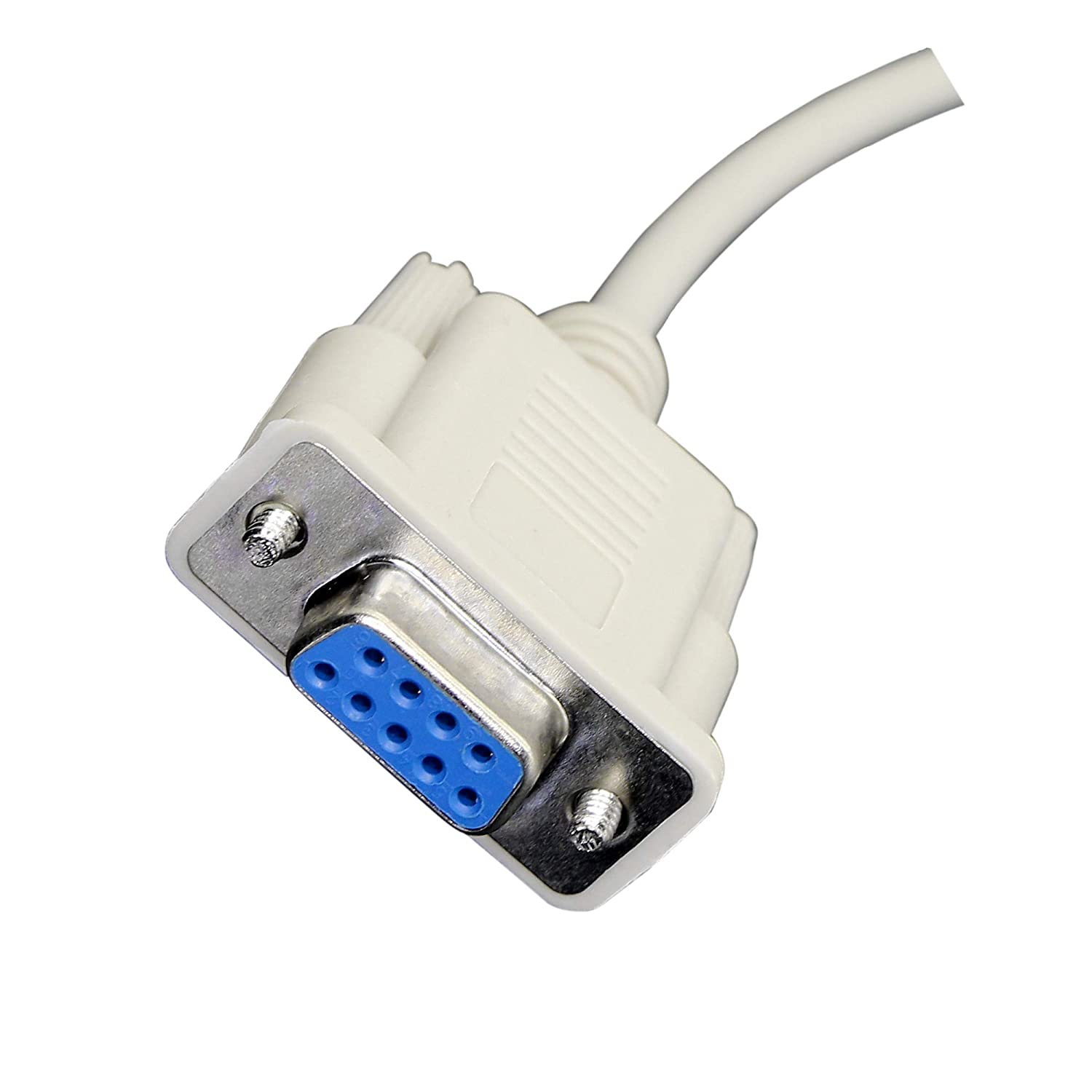 Scanners Printers 4.5Ft RS232 DB9 9pin Data Serial Cable Male to Female DB9 Extension Cable KANGPING for Computers