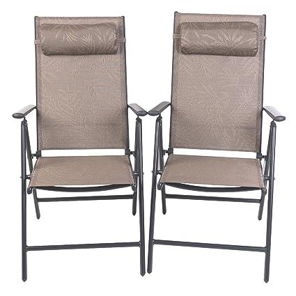 amazon com patiopost outdoor adjustable folding recliner aluminum rh amazon com patio sling furniture patio sling chairs aluminum