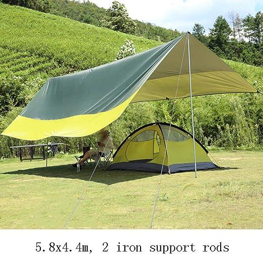 CAIJUN Toldo Impermeable Refugio Playa Lona Carpas De Camping Pérgola Tela Oxford Protector Solar Impermeable Portátil Color De Costura, 4 Estilos (Size : B): Amazon.es: Hogar