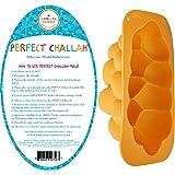 Silicone Challah Braid Bread Mold Bakeware, Perfect Challah Braided Baking Mold Pan, No Shaping Required - Medium (Single)