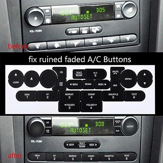 Amazon.com: Ansblue Kit de reparación de botones de radio ...