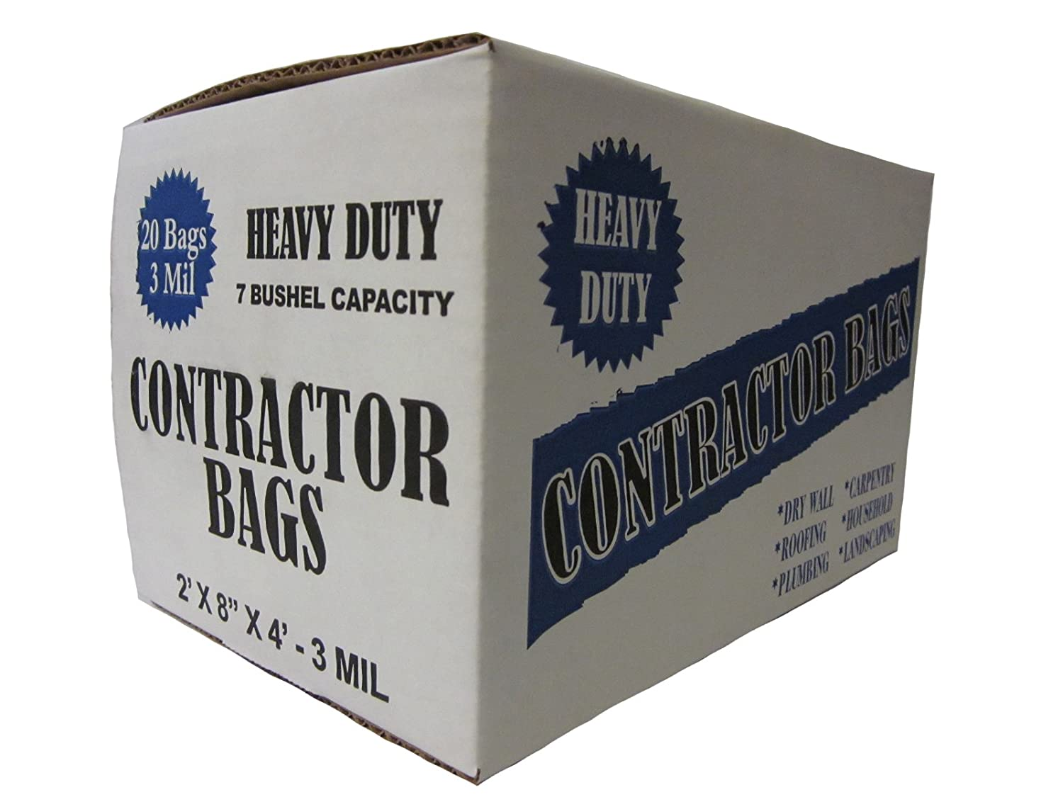 Heavy Duty Contractor 20 Bags/3MIL (32 by 50) Plastic Prince 3250