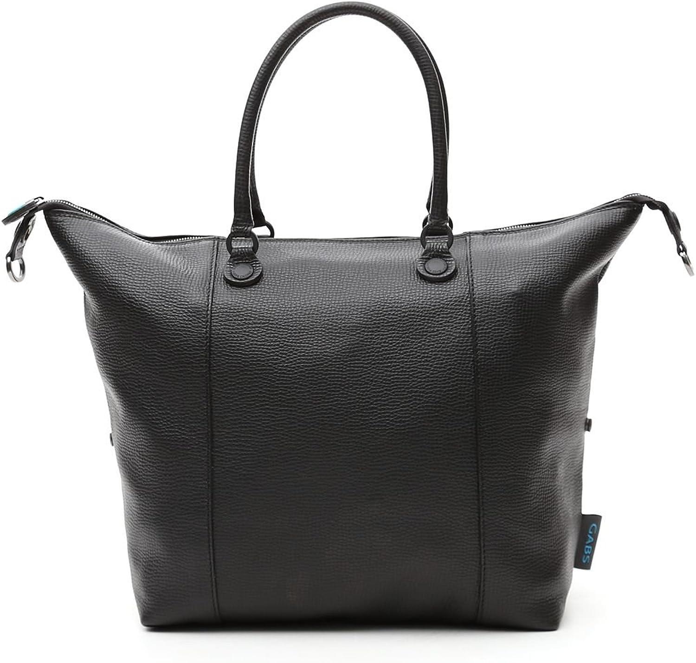 GABS donna borsa shopping G3.B-I17 PAPA PIATTA TRASF.PALMELLATO DAV/DT 2000 2000-nero