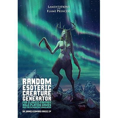 Random Esoteric Creature Generator for Classic Fantasy Rpgs & Their Modern Simulacra: Toys & Games
