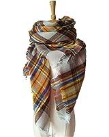 WINCAN Soft Warm Tartan Plaid Scarf Shawl Cape Blanket Scarves Fashion Wrap