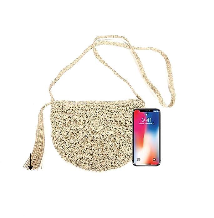 Amazon.com: Orfila - Bolso bandolera para mujer, diseño de ...