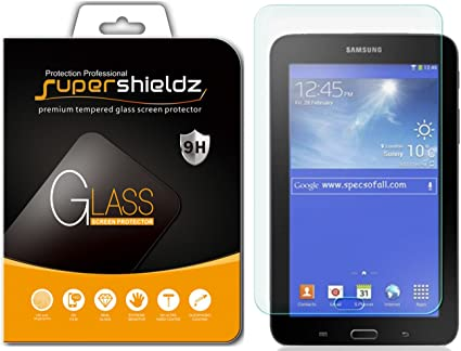 Supershieldz  Tempered Glass Screen Protector Saver for Samsung Galaxy Tab 3 7.0