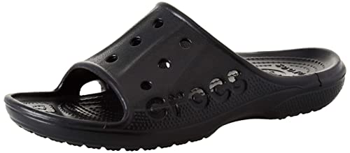 ff47d0b12474 Crocs Men s 12000 Baya Slide Clog Black  Amazon.ca  Shoes   Handbags