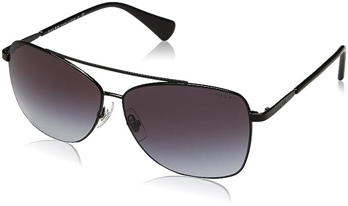 06e4f723a857d Amazon.com  Ralph by Ralph Lauren Women s 0ra4121 Aviator Sunglasses ...