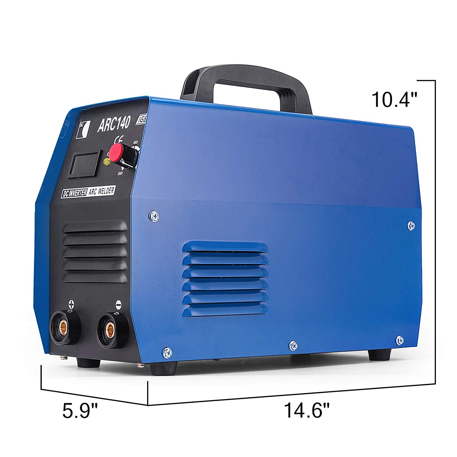 Mophorn 140A ARC Welder 110V ARC Welding Machine ARC-140 Anti-Stick Electric Welder Machine ARC IGBT Digital Display LCD DC Inverter Welder Inverter Welding ...