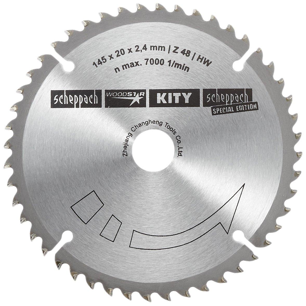 2,2 mm Scheppach 3901803704 Hoja Circular de di/ámetro 145 x 20 mm 48Z para Sierra de inmersi/ón