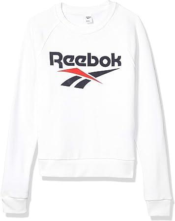 Reebok Classic Vector Crewneck Sudadera de Cuello Redondo, Mujer
