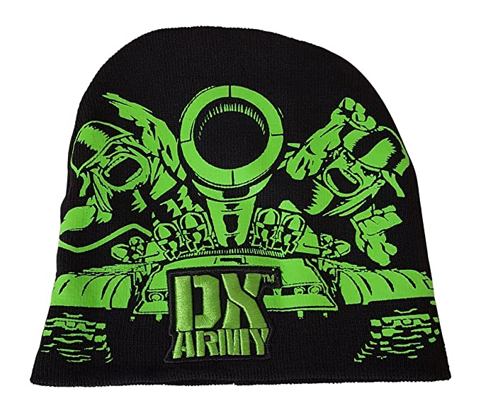 813be4efc Amazon.com  WWE DX Army D-Generation X Tank Beanie Cap Hat  Clothing