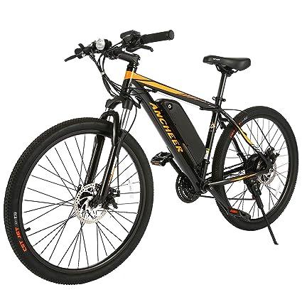 Amazon.com: Ancheer - Bicicleta eléctrica plegable para niña ...