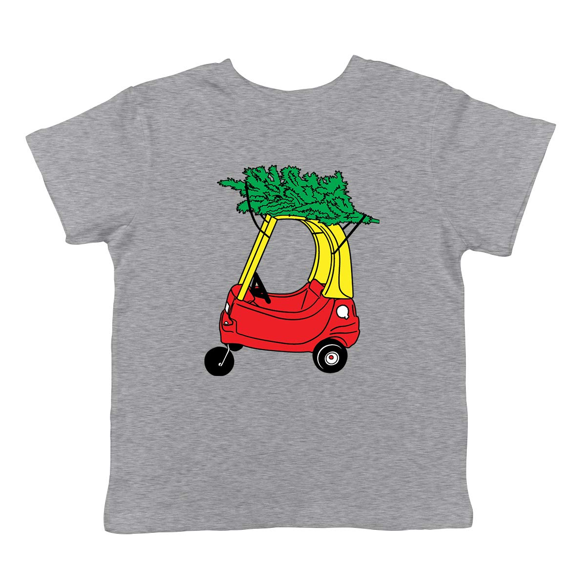 SpiritForged Apparel Childrens Car with Christmas Tree Infant T-Shirt
