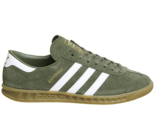 new arrival f426a accd9 adidas Men s Hamburg Trainers  Amazon.co.uk  Shoes   Bags