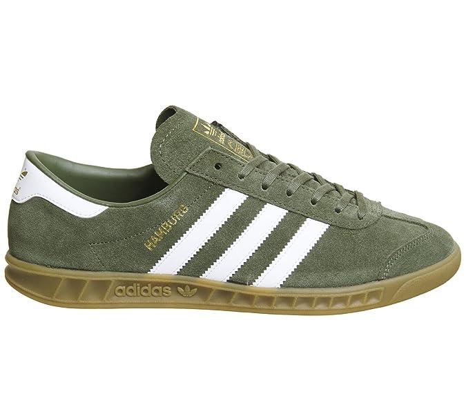8afbd20a8c07 adidas Men s Hamburg Trainers  Amazon.co.uk  Shoes   Bags