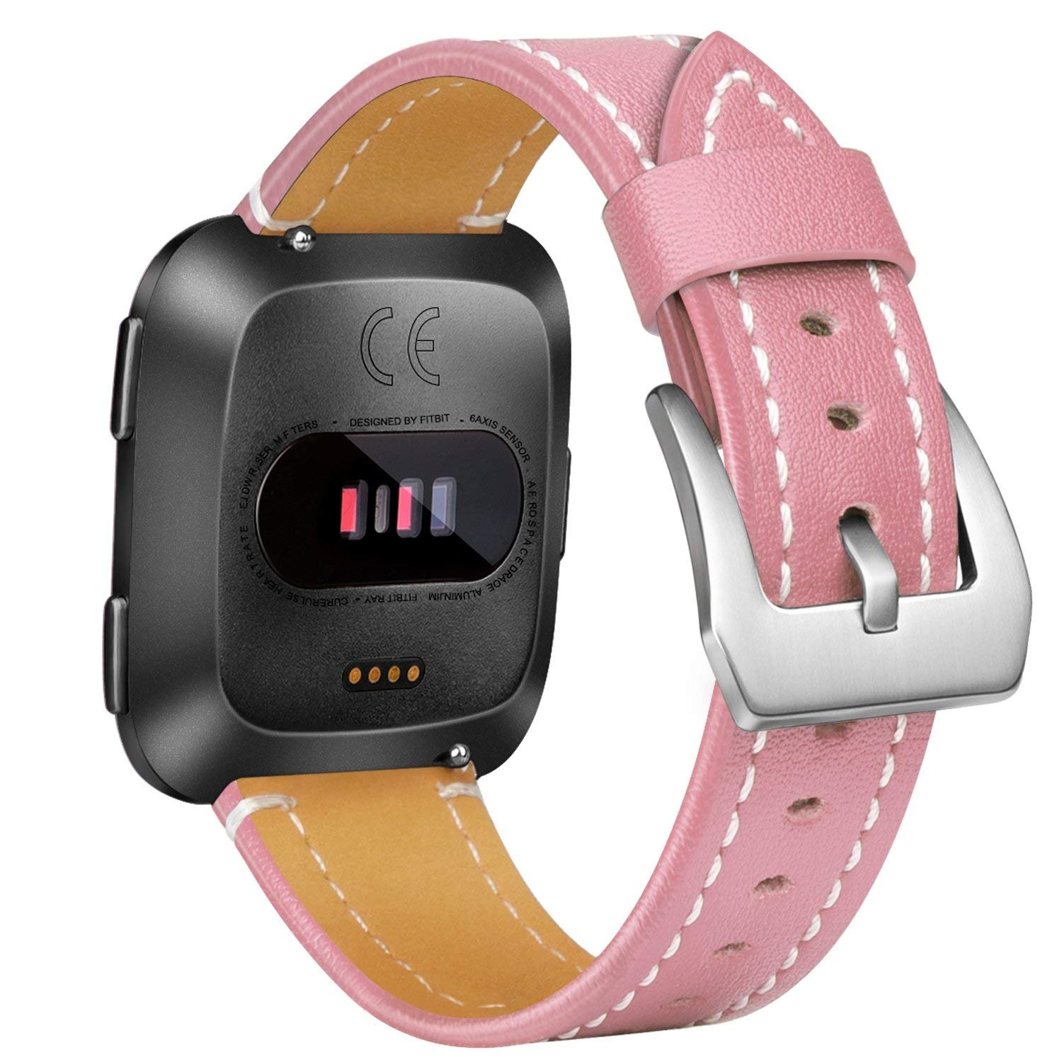 AK for Fitbit Versa Bands Small Large Adjustable Replacement Watch Band  Metal Mesh Wristband Straps with Unique Magnetic Clasp for Fitbit Versa
