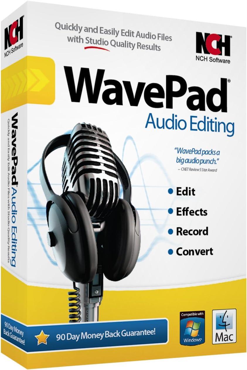 front facing WavePad Audio Editing