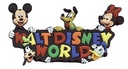 c28dfbc9df0cf Amazon.com  Disney Soft Tough Magnet - Walt Disney World Logo - Fab ...