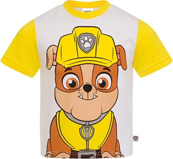 Maglietta a Maniche Corta per Ragazzi Zuma Paw Patrol