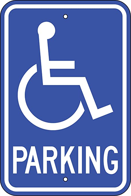 latest fashion super specials fashion style Amazon.com : Handicapped Parking Only Signs (R-99) : Ceiling ...
