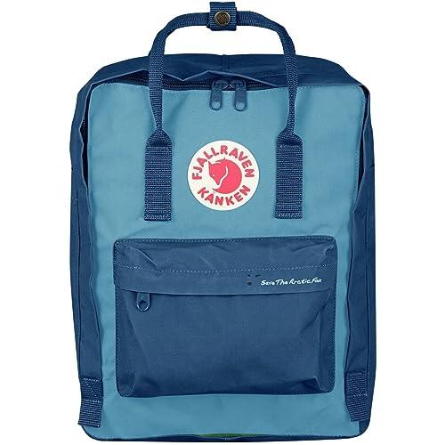 Fjallraven Kanken Kids Small Blue Vinylon Fabric Backpack 23496539 90168f3f8380c