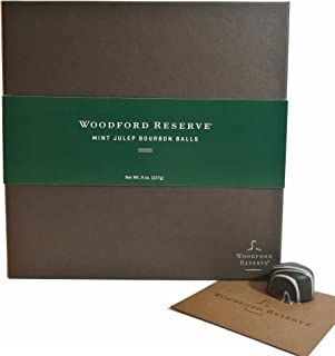 product image for Woodford Reserve Premium Mint Julep Bourbon Ball Gift Box, 16 Candies per box, delicious and perfect for holiday gifts