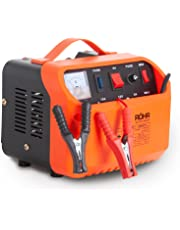 Röhr Car Battery Charger 10 Amp 6V / 12V DFC-10P Intelligent Turbo/Trickle with Battery Repair and Maintainer Technology
