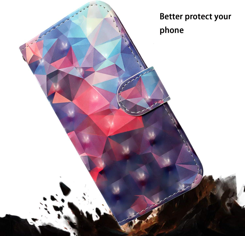 ZCXG Kompatibel Mit Handyh/ülle Samsung Galaxy S10 Plus H/ülle Leder 3D Muster Schwarz Weich Silikon Inner Sto/ßfest Tasche Magnet Stand Flip Cover mit Kartenfach M/ädchen Brieftasche Katze Niedlich