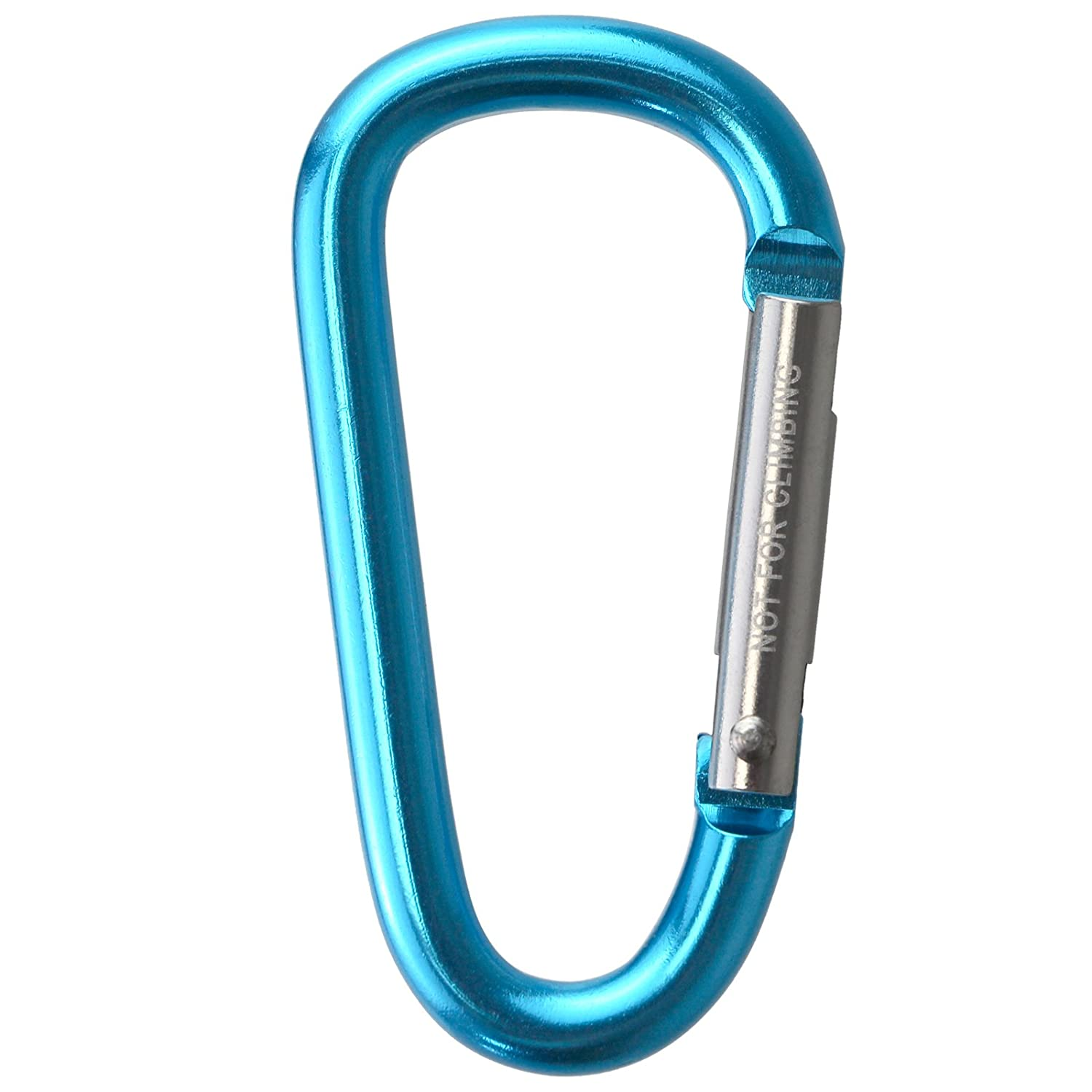 Hiking BB Sport Material carabiner in 10 pieces Traveling Carabiner Clips for Outdoor Keychain Clip Camping Fishing Backpack