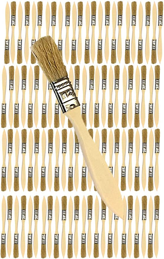 96 Pk Stains,Varnishes,Glues,Gesso 1 1//2 inch Chip Paint Brushes for Paint