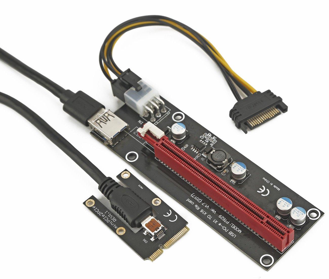 Amazon.com: Graphics Card Plus to Laptop | miniPCI e to X16 ...