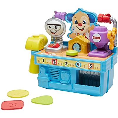 Fisher-Price Busy Learning Tool Bench: Toys & Games