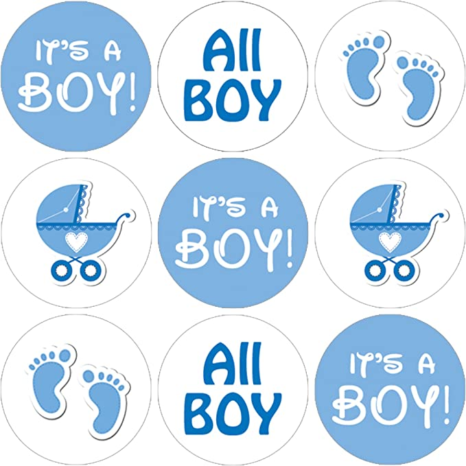 Darling Souvenir DIY Twins Baby Shower Theme/Stickers Hersheys Kisses/Candy Labels 190 Pcs-Mint